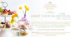 Winelands Chocolate Festival 2016 and a giveaway Social Media Conference, Chocolate Festival, Lindt Chocolate, Festival 2016, Local Events, Confectionery, Giveaway, Bubbles, Place Card Holders