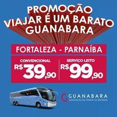 Compre sua passagem de Fortaleza para Parnaíba por R$ 3990. Com o serviço Leito você garante sua passagem por R$ 9990 Consulte-nos