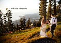 Heavenly Lake Tahoe Wedding, Mountain Wedding and Reception, #mountainwedding