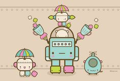 Cute Designs and Illustrations