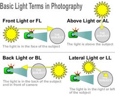 3 Basic Tricks for Using the Light in Your Advantage for Great Photos - Dealing with Front Light, Above Light, Back Light, and Lateral Light