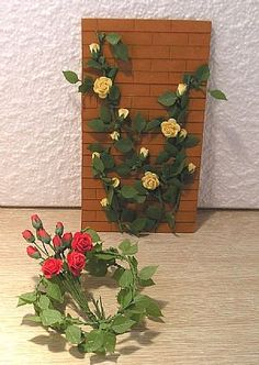 """Midsomer cottage - Ive boufht climbing roses here - on """"www.miniature.com"""""""