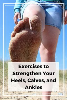 Strengthening the arch of your foot (and surrounding muscles and ligaments) is one of the best ways to counteract the painful symptoms of Plantar Fasciitis. Click to learn 3 easy heel pain exercises.