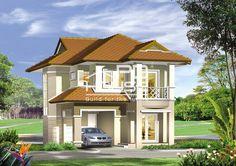 แบบบ้าน W-428, บ้าน 2 ชั้น, ห้องนอน 3 ห้อง, ห้องน้ำ 3 ห้อง, ที่จอดรถ 1 คัน, พื้นที่ใช้สอย 150 ตารางเมตร, ขนาดที่ดิน 53 ตารางวา, กว้าง 8.5 เมตร, ยาว 11 เมตร