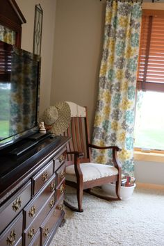 Old Lake George House Tour: Master bedroom and bath