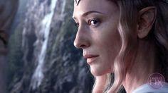 Cate Blanchett in The Hobbit
