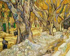 Les arbres à St Rémy de Provence - Van Gogh