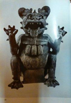 Urne zapoteque Figurengefässe aus Oaxaca/ Mexico Schuler-Schömig Immina von Editorial: Museum für Völkerkunde, Berlin (1970) plate 69