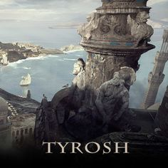Game of Thrones: Tyrosh II – Unseen Westeros, Claudio Pilia Game Of Thrones Artwork, Game Of Thrones Fans, I Love Games, Fantasy City, Blue City, Environment Concept Art, Art Photography, Fan Art, History