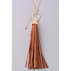 "Boho Tassel Necklace So cute! Length: approx. 24"" + 3"" extension. Jewelry Necklaces"