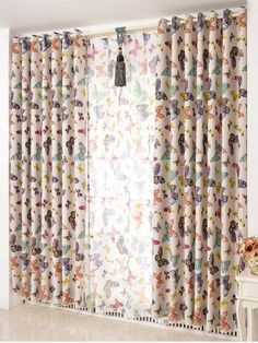 GET $50 NOW   Join RoseGal: Get YOUR $50 NOW!http://m.rosegal.com/window-curtains/butterfly-print-window-screens-blackout-1115613.html?seid=834knv2jup9ic04lp4s9tjvlr3rg1115613
