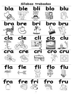 spanish consonant blends