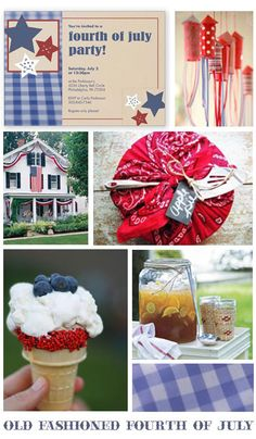 old fashioned 4th of july decorations