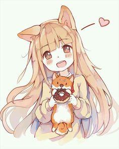 390 Fantastiche Immagini Su Anime Manga Gatto Gatti Ragazze
