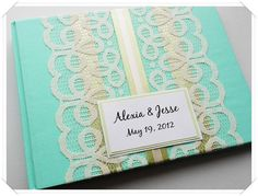 Guest book ---- hmmm make it with a journal