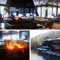 lauluni sadepäivän varalle: Turkkilainen aamiaisbrunssi Dim-joella #aamiainen #turkishbreakfast #alanya #turkki #turkey #travel