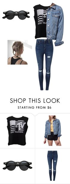 """Untitled #46"" by bre-tommo ❤ liked on Polyvore featuring Été Swim, Topshop and Miss Selfridge"