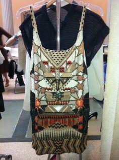 All Saints Newaz Dress  Corcoran Gallery photoshoot