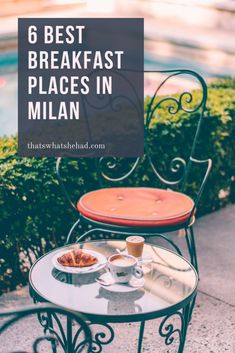 6 best breakfast places in Milan to start your day like a true Italian! Did you now that Italians usually have only a brioche and a coffee in morning? Here are 6 cafes that serve the best breakfast food in Milan! Good Breakfast Places, Best Breakfast, Cinque Terre, Amalfi Coast, Milan Food, Florence, Italy Travel Tips, Travel Destinations, Travel Info