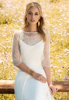 Frisson wedding dress from Rembo Styling 2017 Collection -  see the rest of the collection on www.onefabday.com
