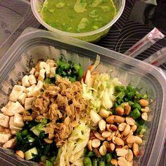 Healthy! - 2件のもぐもぐ - Thunder tea rice by su ann chong