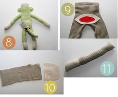 How To Make A Sock Monkey Costume – Homemade Ginger Sock Monkey Costumes, Sock Monkey Hat, Baby Halloween Costumes, Halloween Diy, Cars Birthday Parties, Car Birthday, Old Sweater, Cute Socks, Repurposed