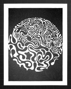 Brain Coral. / matt w. moore
