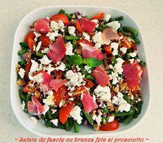 Prosciutto, Cobb Salad, Feta, Salads