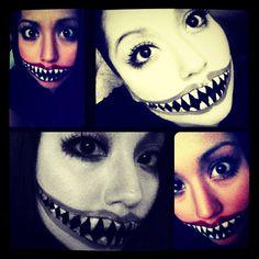 Halloween makeup #Halloween #Sephora