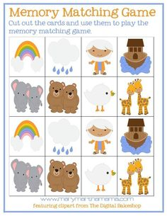 noahs ark preschool pack