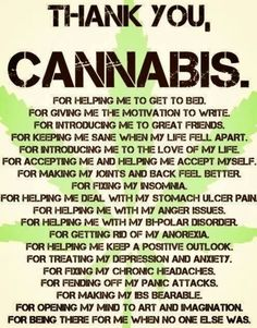 Thank you CANNABIS! ♡  Nice! Real medicine , thats what we are all about as well #leafedin.org