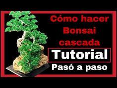 COMO HACER    ARBOL BONSAI DE ALAMBRE   ARTIFICIAL   CASCADA DIY - YouTube Cool Diy, Tree Of Life, Origami, Wire, Make It Yourself, Artificial, Trees, Money, Youtube