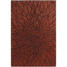 @Overstock - Hand-carved details and a plush, high pile accent this hand-loomed rug. Brown and brick red hues tastefully infuse the stylish New Zealand wool rug. http://www.overstock.com/Home-Garden/Hand-tufted-Brooklyn-Brick-Wool-Rug-5-x-8/5652178/product.html?CID=214117 $254.99
