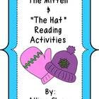 """This unit combines reading activities for Jan Brett's books """"The Mitten"""" & """"The Hat"""" $5"""
