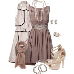 """Browness"" by corenna-obrien on Polyvore"