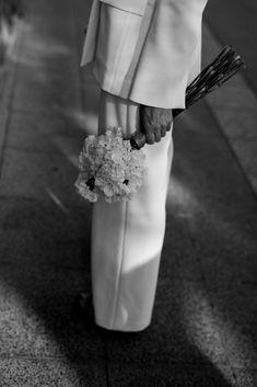 See the full Brisbane elopement & more bridal looks via thelane.com now Perfect Wedding, Dream Wedding, Wedding Day, Bridal Looks, Bridal Style, Purple Garlic, Karen Willis Holmes, Wedding Dress Styles, Here Comes The Bride
