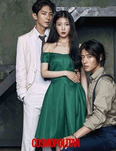 "Lee Joon Gi, IU and Kang Ha Neul - Cosmopolitan Korea Magazine featuring the ""Scarlet Heart: Ryeo"" Cast Lee Jun Ki, Lee Joongi, Moon Lovers Scarlet Heart Ryeo, Scarlet Heart Ryeo Cast, Scarlet Heart Ryeo Funny, Asian Actors, Korean Actors, Korean Dramas, Korean Celebrities"