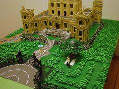 LEGO MOC Wayne's Manor 002 by Jotabeeeeeee, via Flickr