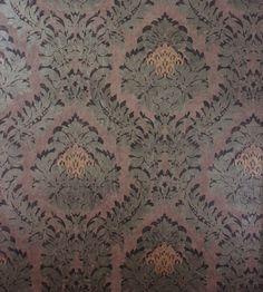 Rezzonico Vinyl Wallpaper by Osborne & Little   Metallic Designs   TM Interiors Limited