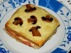A croque monsieur - francia melegszendvics, besamellel