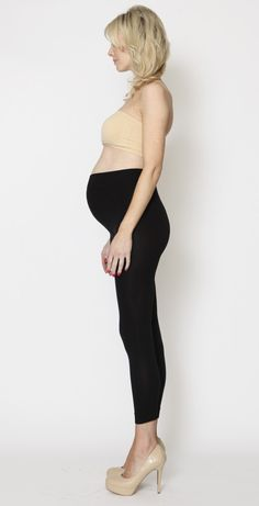Lucky Legs maternity leggings by EGG Maternity