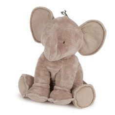 Ferdinand the elephant soft toy in synthetic fur