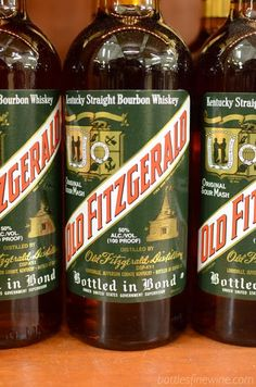 Old Fitzgerald Bottled in Bond Bourbon Whiskey - great whiskey under $20