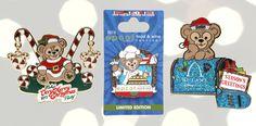 Duffy the Disney Bear Holiday Pins