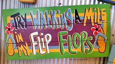 Walk A Mile, Flipping, Flip Flops, Walking, Beach Sandals, Walks, Slipper, Hiking, Reef Flip Flops