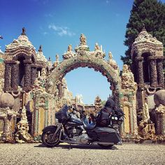The traveler sees what they see the tourist sees what they have come to see #quote #GilbertKChesterton #hiddentreasures #grotto #shrine #rockformation #amazing #travel #adventure #explore #bikelife #twowheels #livetoride #ridetolive #harleydavidson #harleywomen #bikerbabe #womenwhoride