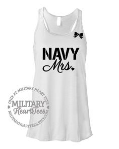 Hey, I found this really awesome Etsy listing at https://www.etsy.com/listing/188308856/custom-navy-mrs-racerback-tank-top-shirt