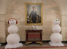 Christmas decoration at The White House