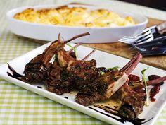 Lammkotletter med potatisgratäng Cravings, Steak, Beef, Food, Lamb, Meat, Essen, Steaks, Meals