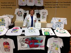 """""""I enjoyed your workshop tremendously!  Your enthusiasm for science teaching is exactly what we all need to reboot at this time of year. Contact me for a wearable science workshop at your school or district. info@ScienceWear.net I know my students will love making T-shirts for science!"""" Jamie Long, Village Tech Schools"""